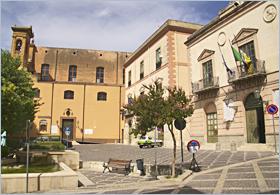 Sizilien - Corleone - Piazza Garibaldi