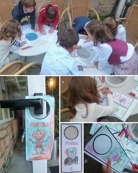 niños manualidades creativas Halloween