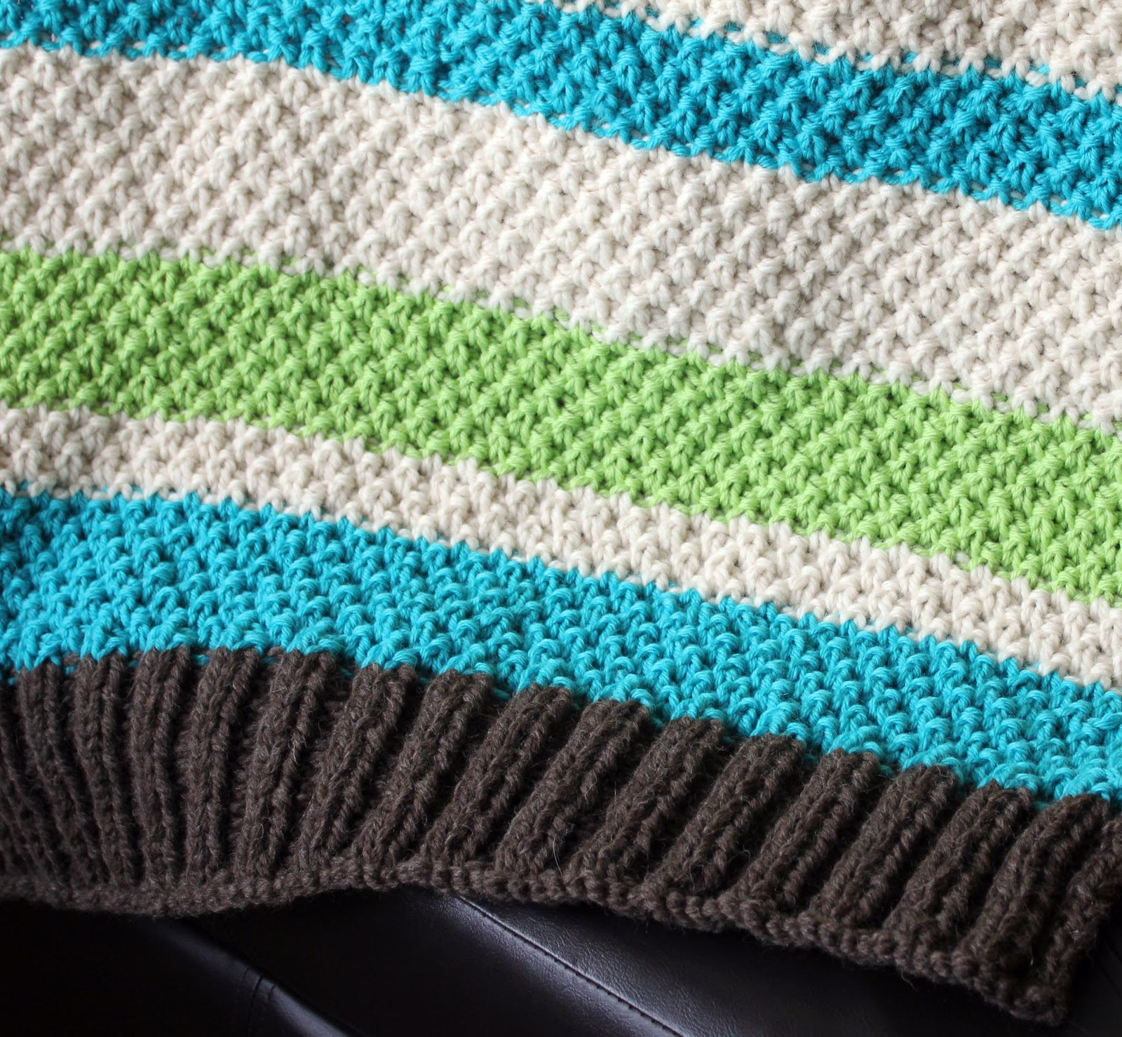 Easy Baby Blanket Knitting Pattern For Beginners With