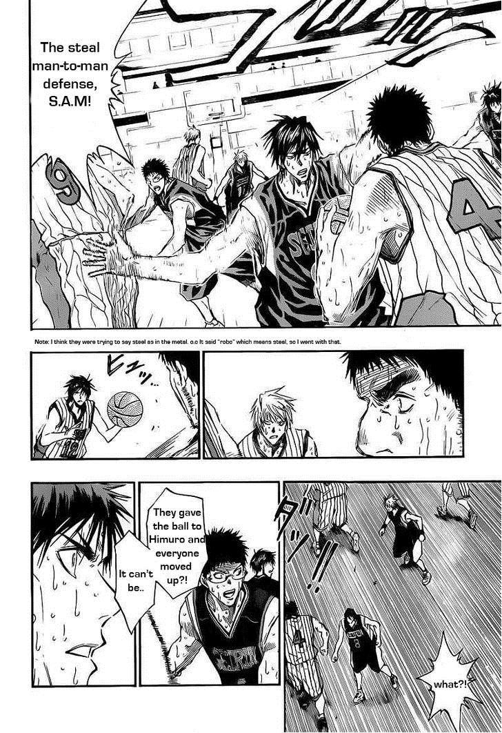 Kuroko no Basket Manga Chapter 161 - Image 12