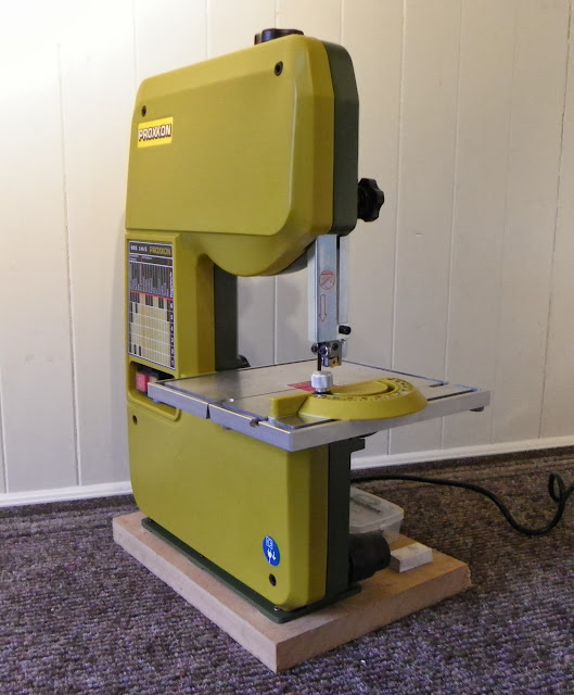 Proxxon Micro Mbs 240 E Band Saw Review Modeling Tools