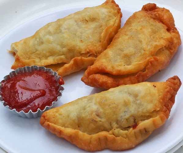Roasted Veggie Empanadas Recipe | Easy Mexican Snacks | Written by Kavitha Ramaswamy from Foodomania.com