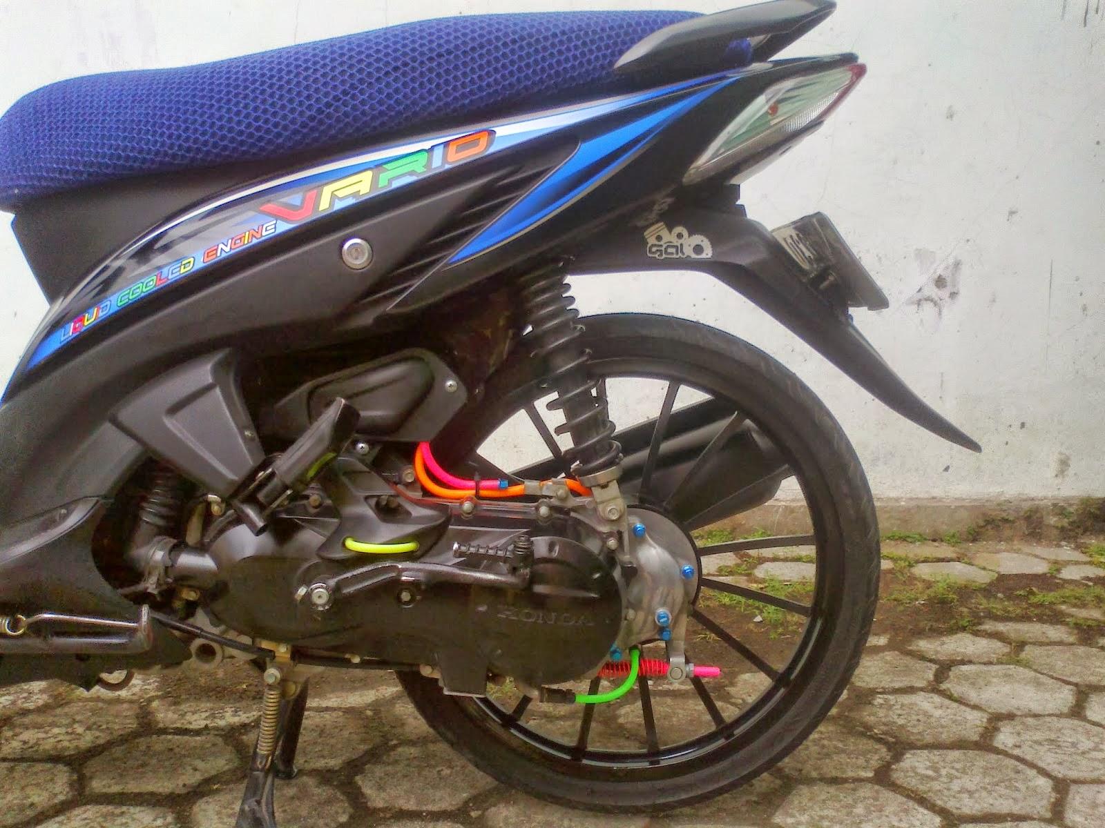 100 Modifikasi Motor Vario 110 Velg 17 Terupdate Oneng Motomania