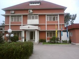 Le siège de la Fédération congolaise de football association (Fecofa) à Kinshasa. Photo Droits Tiers.