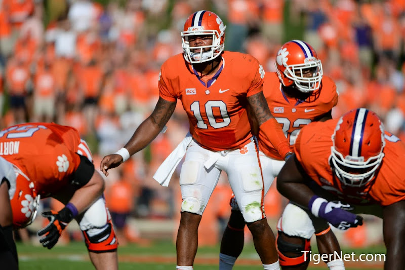 Wake Forest vs. Clemson Photos - 2013, Football, Tajh Boyd, Wake Forest