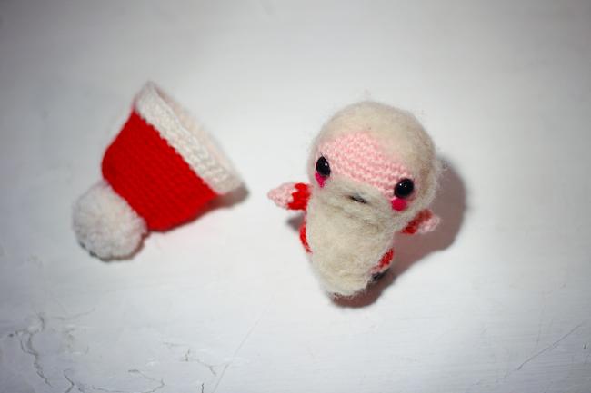 Santa claus free amigurumi pattern