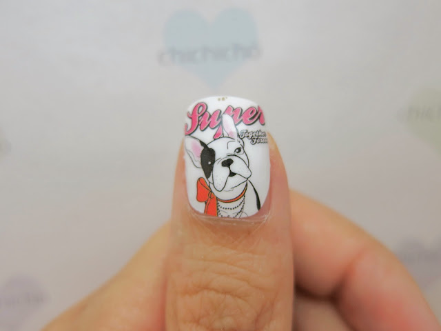 French Bulldog Nail Wraps MDS1008