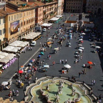 Plaza Navona de Roma Foto 2