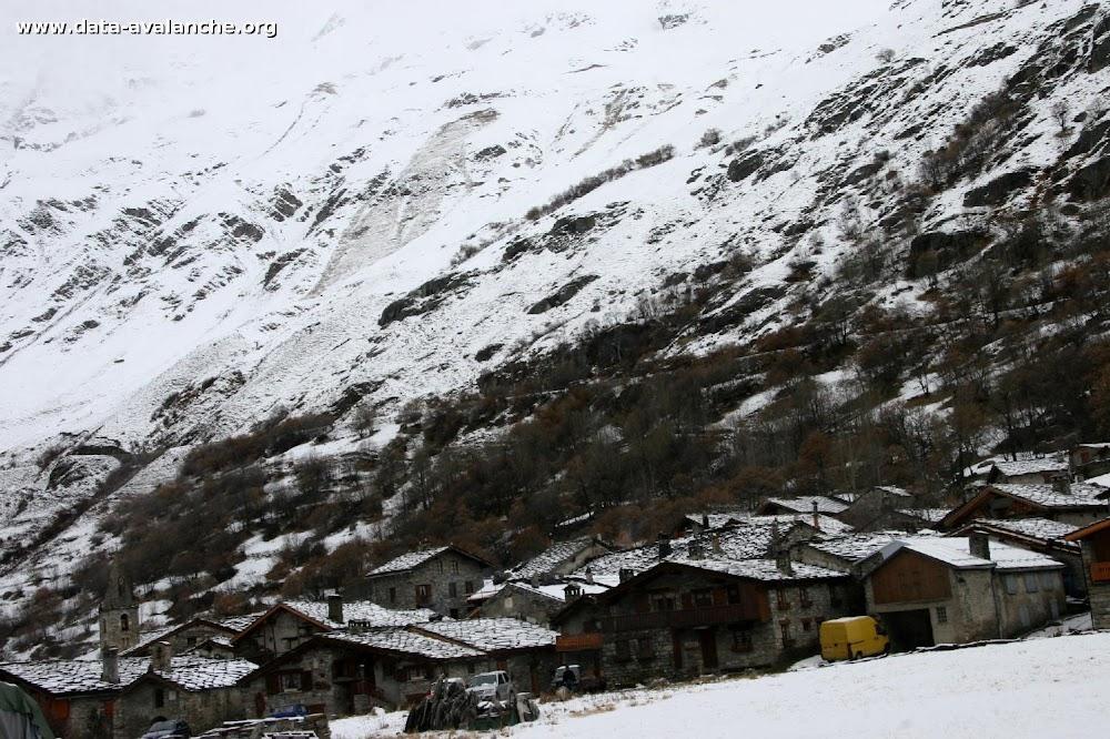 Avalanche Haute Maurienne, secteur Pointe de Méan Martin, La Met - Photo 1