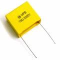 radial mount polyester capacitor, καρφωτός πυκνωτής πλαστικός