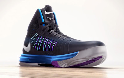 nike lunar hyperdunk 2012 black blue 7 01 Video: Explode with Nike Lunar Hyperdunk+ Sport Pack