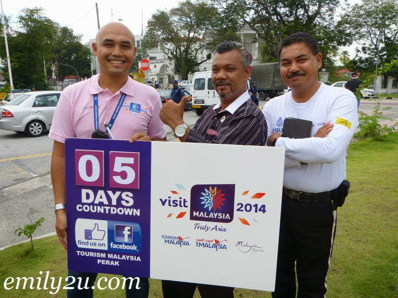 Visit Malaysia Year Carnival Countdown