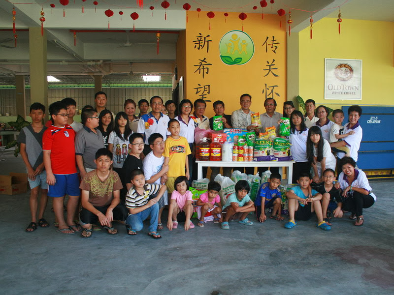 Ipoh Chin Woo Chinese New Year Charity Drive