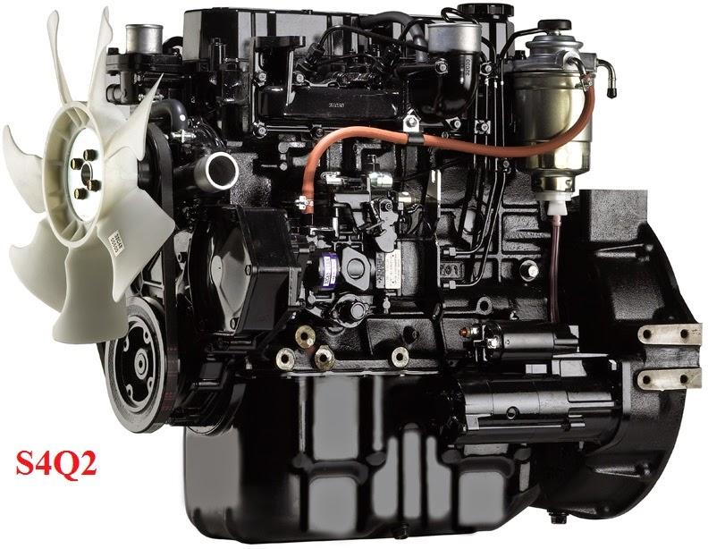 Động cơ xe nang diesel Mitsubishi