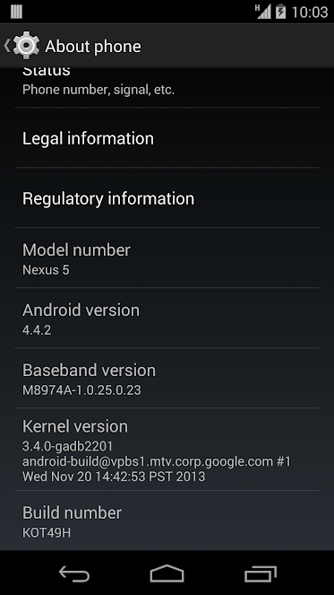[ROM 4.4.2][STOCK] Android 4.4.2 KOT49H - Root+Busybox+Odexée [10.12.2013] Kot49h-about