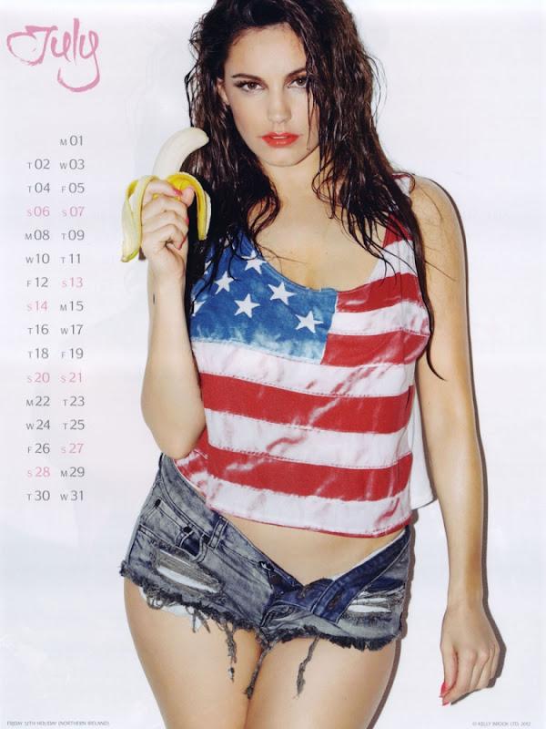 Kelly Brook Calendar 2013
