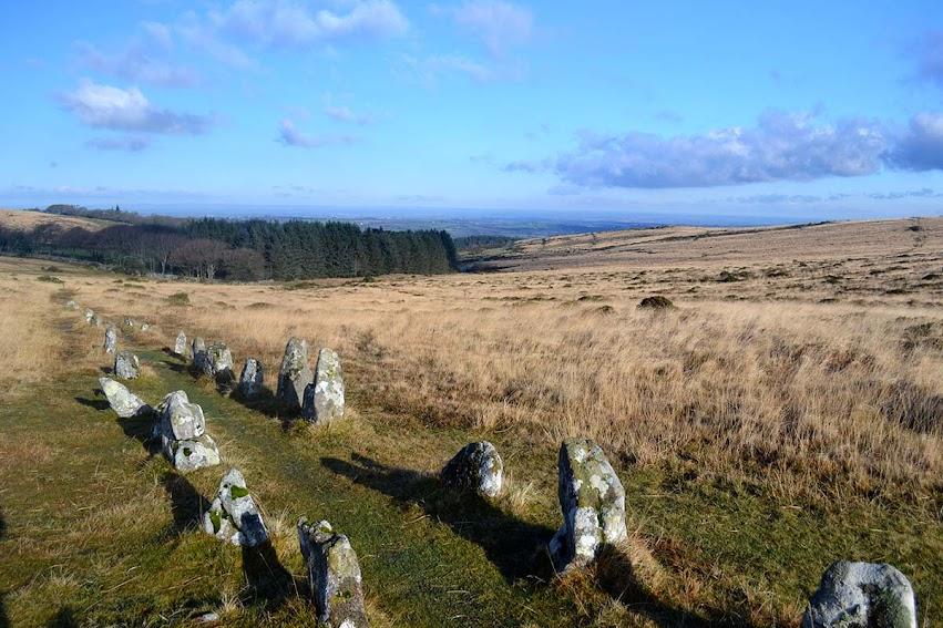 Shovel down row Dartmoor