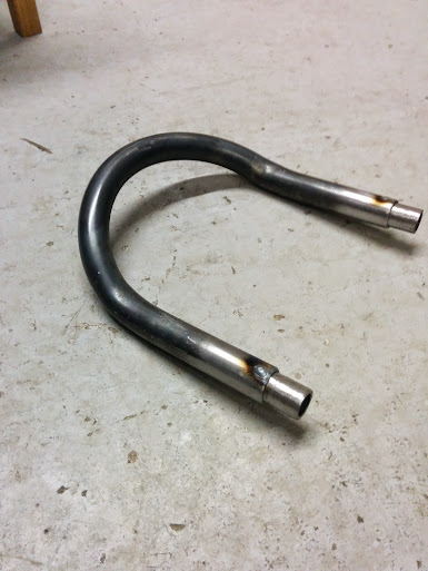 plug welds rear loop