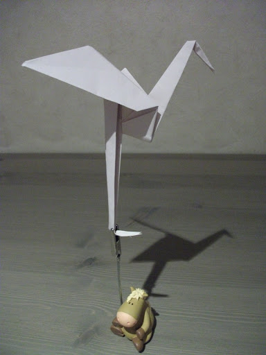Origami Garça