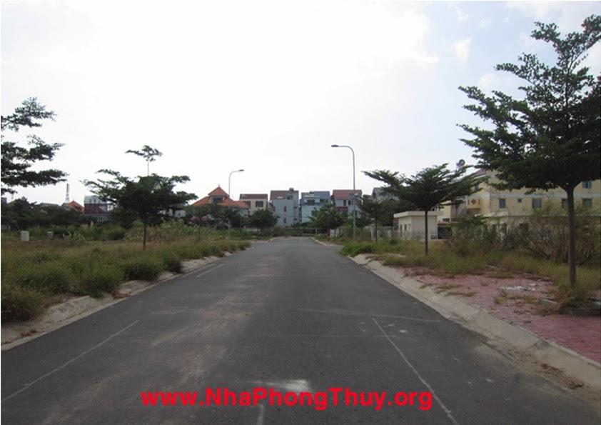 Đường vào khác giữa dự án, phía xa là khu biệt thự decoimex 1