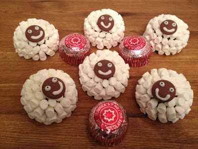 Tunnock's Teacake Marshmallow Sheep - Easter