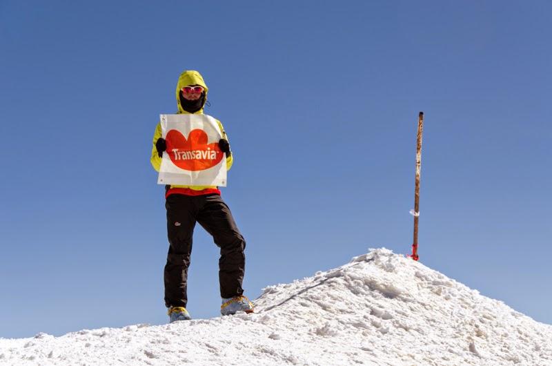 Transavia din nou la inaltime - Caba Dan pe Varful Ararat 5165 m