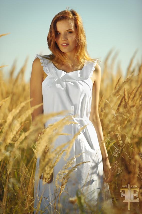 Fotografia mody- koszula nocna długa. Sesja dla producenta i projektanta