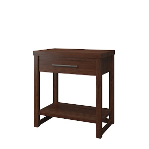 Sumatra Nightstand with Shelf