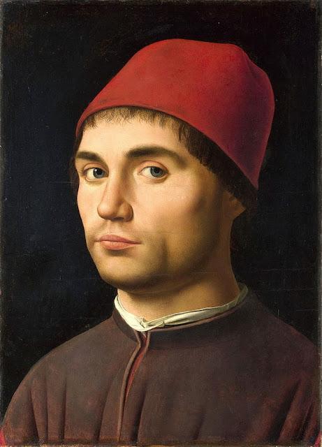 Antonello da Messina - Portrait of Man, possibly a self-portrait