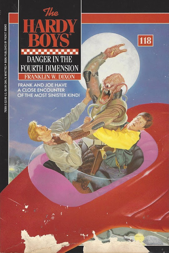 Danger in the Fourth Dimension cover