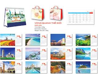 Diễn đàn rao vặt: Đơn vị chuyên sản xuất In lịch bàn - in lịch để bàn - in lịch bàn 2019 - in lịch  VNNC-LB04