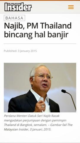 Najib Di Thailand Kenapa Pergi Senyap Senyap