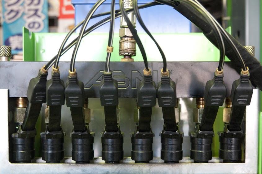 インジェクタークリーニング