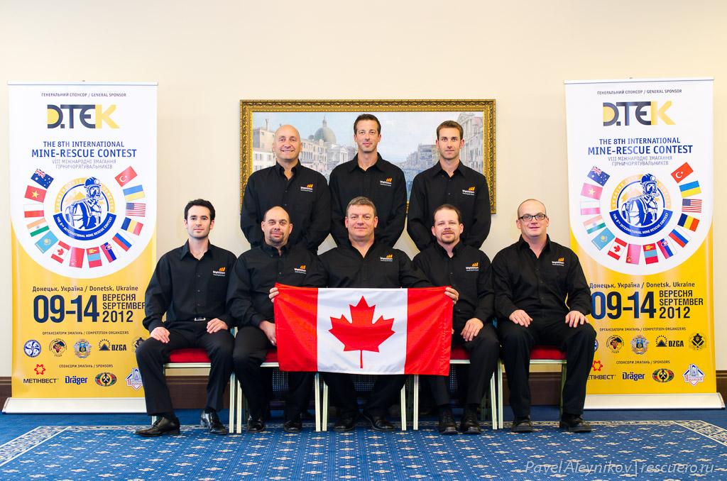 Команда Канады BHP Billiton EKATI Diamond Mine