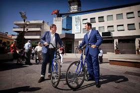 Presentado Gbici el nuevo Sistema de Bicicleta Pública de Getafe