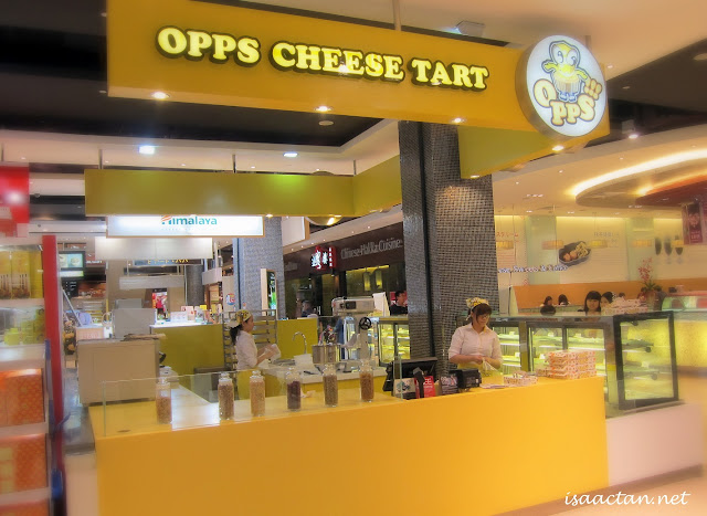 Opps Cheese Tart