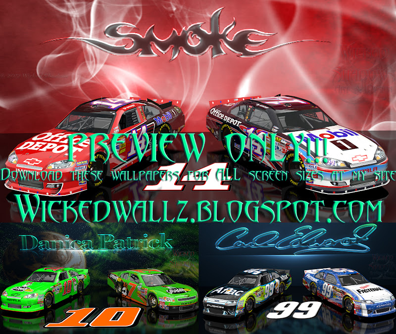 3 New NASCAR Wallpapers For You Today Danica Patrick Tony Stewart And Carl Edwards Download All The Sizes From Section Of My Site