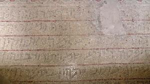 הפסיפס בבית הכנסת שלום על ישראל ביריחו