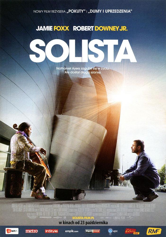Ulotka filmu 'Solista (przód)'