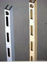 裝潢五金品名:Y1-鐵柱規格:6尺/8尺顏色:銀色玖品五金
