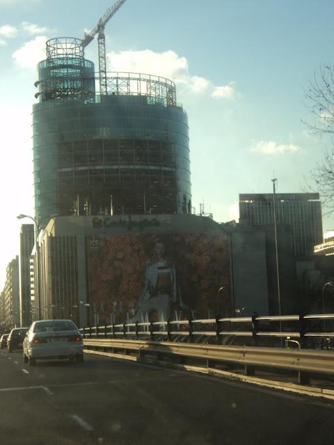 La nueva torre Winsord. Fotos Marzo 2011