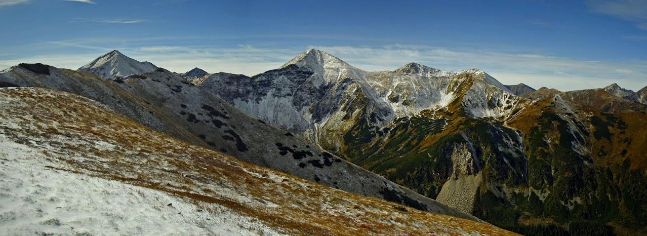 Panorama z Suchego Wierchu Ornaczańskiego