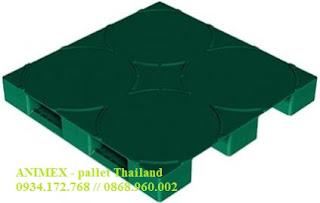 Pallet chứa thùng phuy Thái Lan