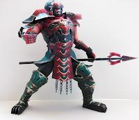 Gilgamesh Genbu Armor Papercraft