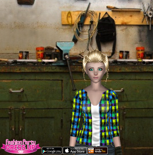 Fashion Party Dress Up Level 18 - Crafting - Anne - Snapshot