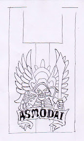Dark Angels Asmodai banner outline