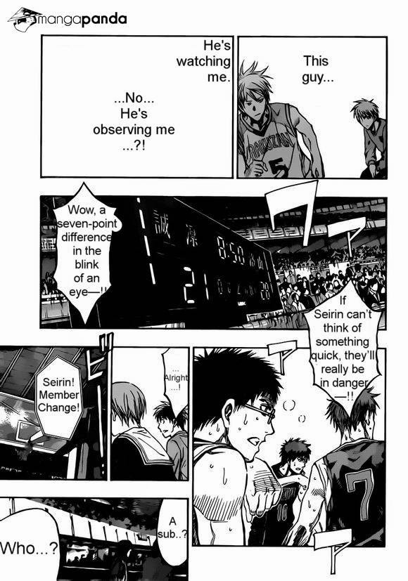 Kuroko no Basket Manga Chapter 239 - Image 17