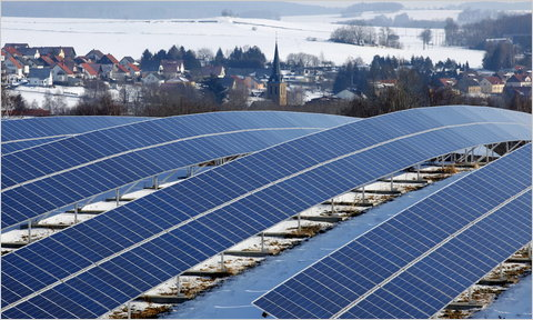 Solar Power Is Really A Form Of Green Power Source Image