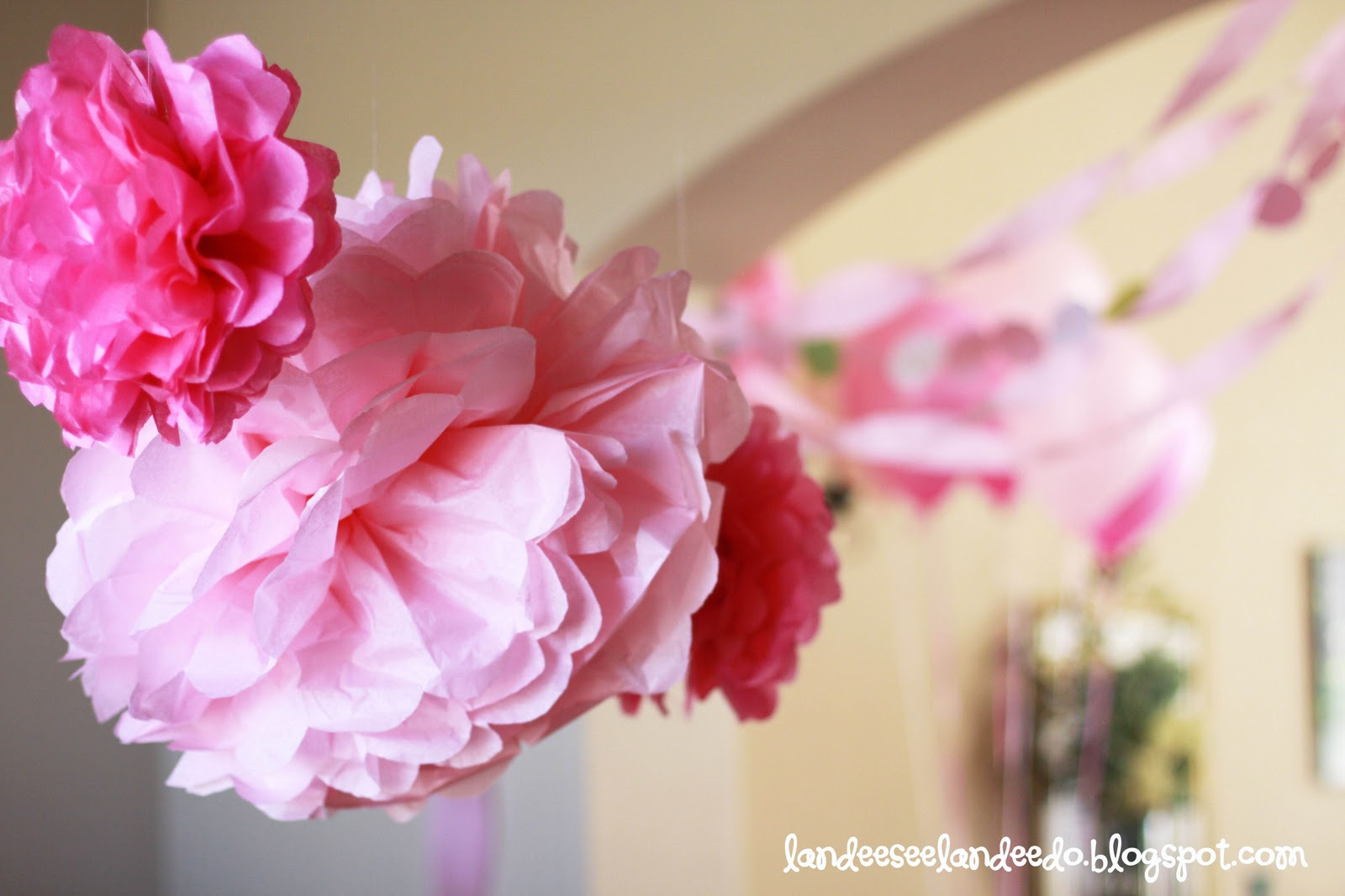 Displaying 19> Images For - Tissue Paper Garland...