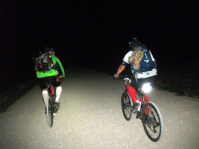 Night Biking at Thunder Rolls AR